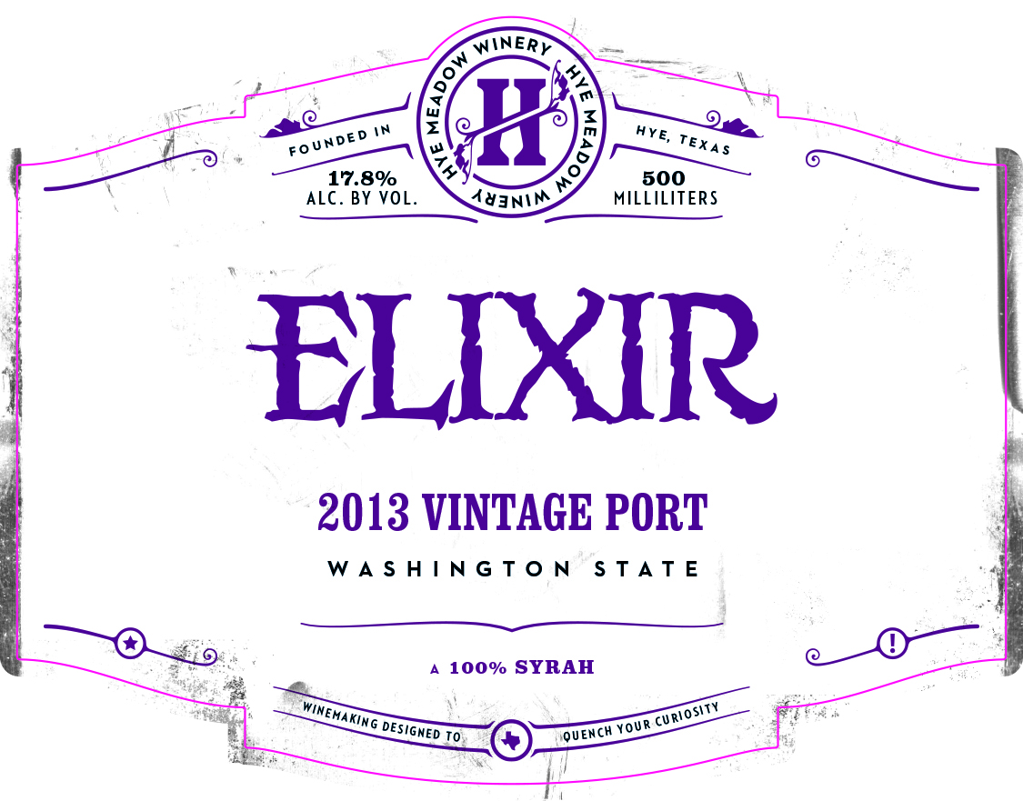 2013 Elixir Vintage Port -- SOLD OUT  Photo