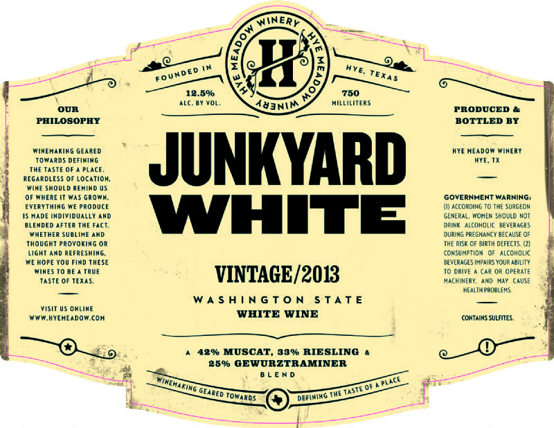 2013 Junkyard White - SOLD OUT