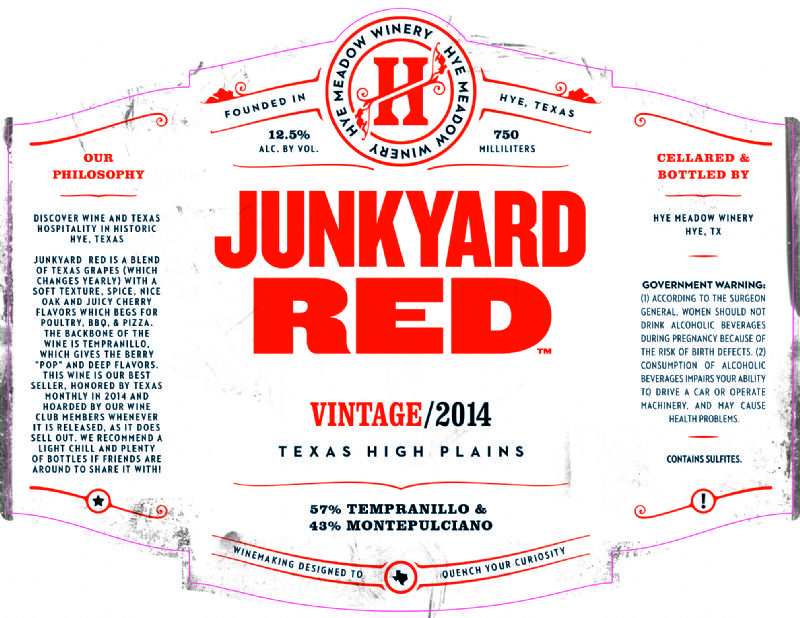 2014 Junkyard Red -- Limited Stock Photo