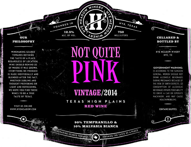 2014 Not Quite Pink -- SOLD OUT