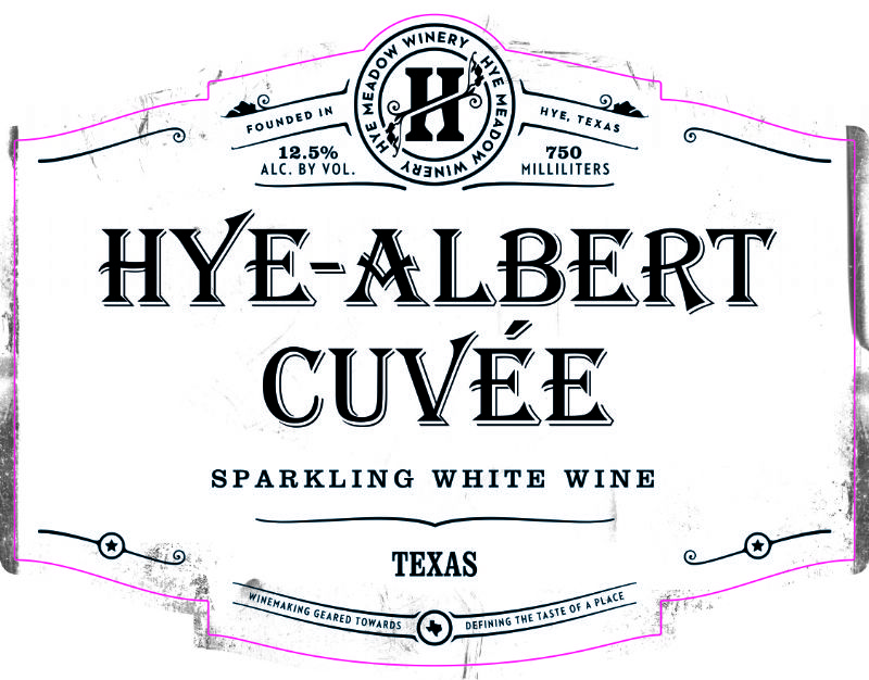 2013 Hye-Albert Cuvee -- SOLD OUT