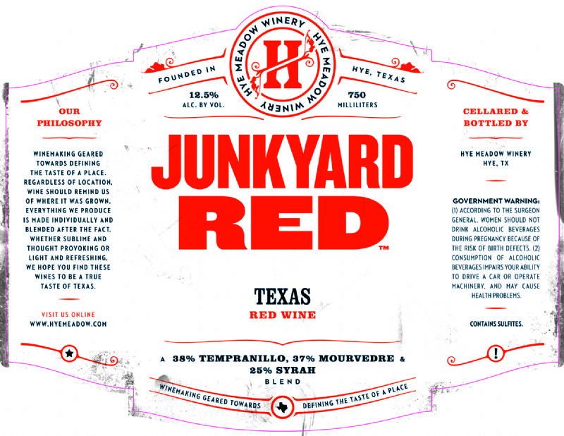 NV Junkyard Red -- SOLD OUT
