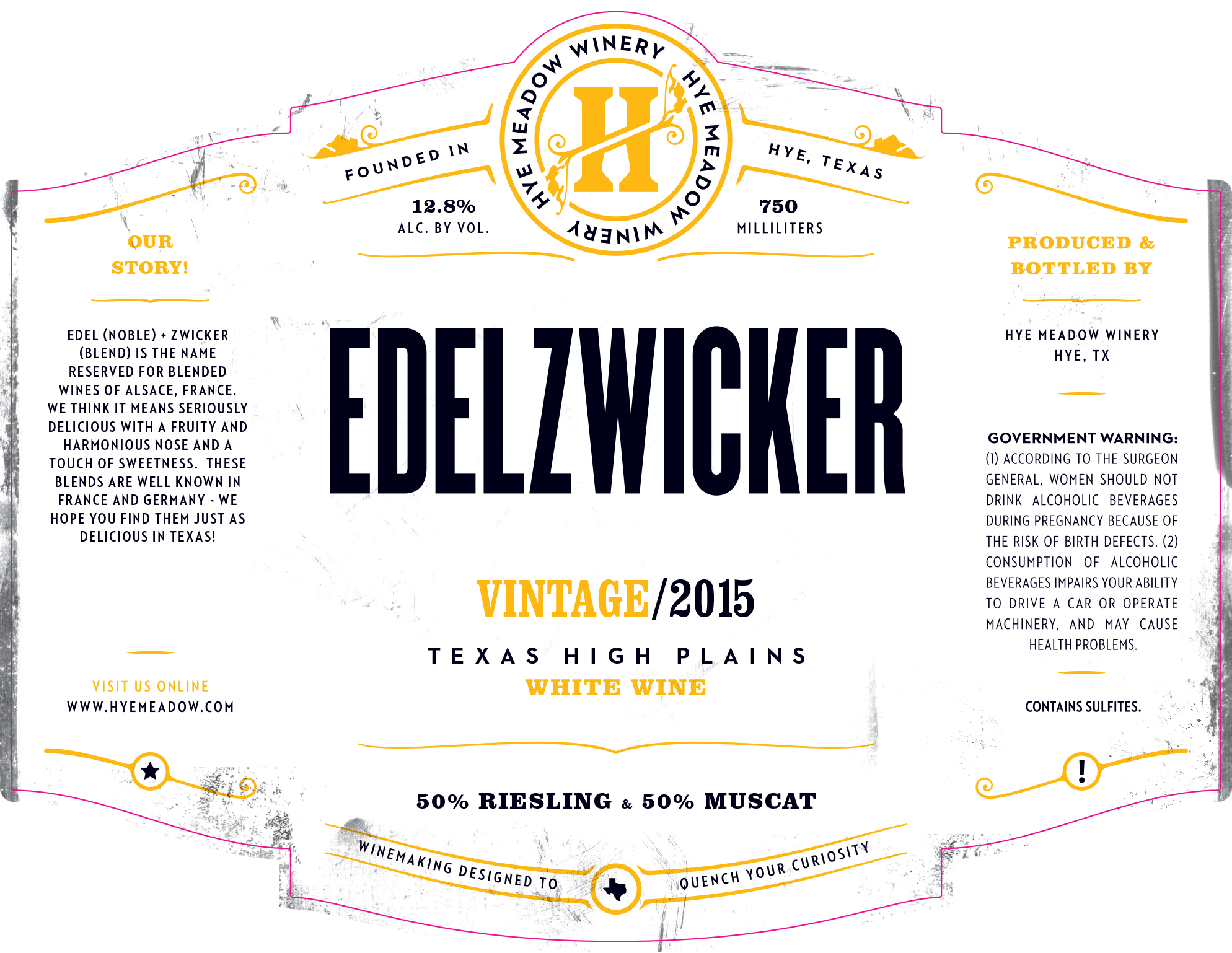 2015 Edelzwicker -- Sold Out