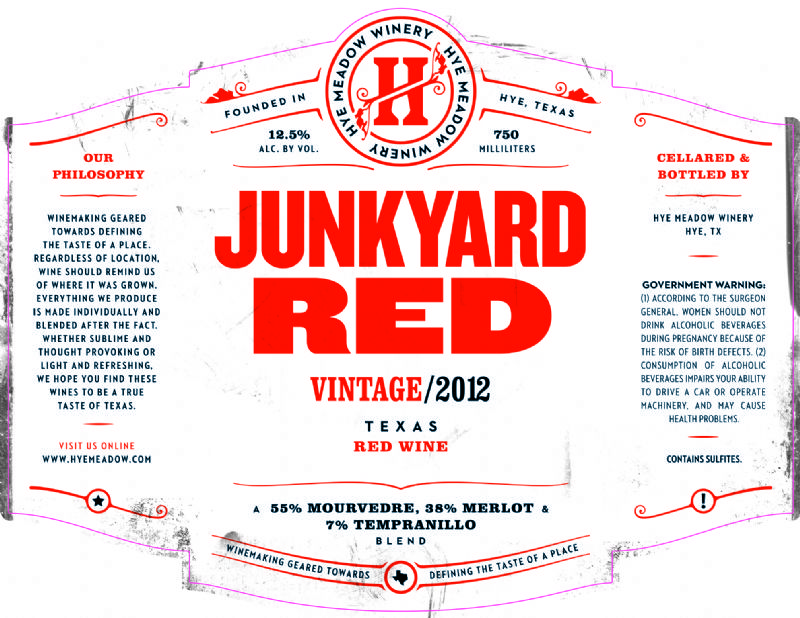 2012 Junkyard Red -- SOLD OUT Photo