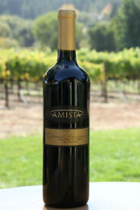 2008 Amista Vineyards Cabernet Sauvignon, Francesca's Terrace (club only)