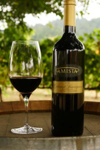 2009 Amista Vineyards Rockpile Cabernet Sauvignon (club only)