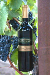 2010 Amista Vineyards Rockpile Cabernet Sauvignon (club only)
