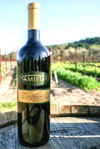 2012 Amista Vineyards Zinfandel, The Hill Block