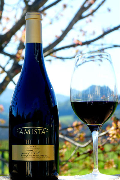 2013 Amista Vineyards Tres - GSM Blend