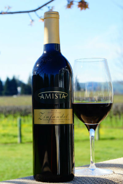 2013 Amista Vineyards Zinfandel, Gene's Block (club only)
