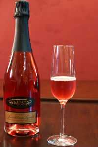 Amista Vineyards Sparkling Syrah - NEW!