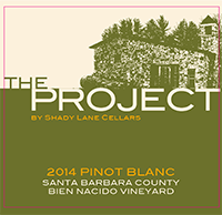 The Project Pinot Blanc 2014