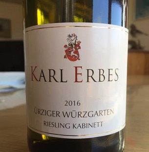 Karl Erbes Riesling Photo