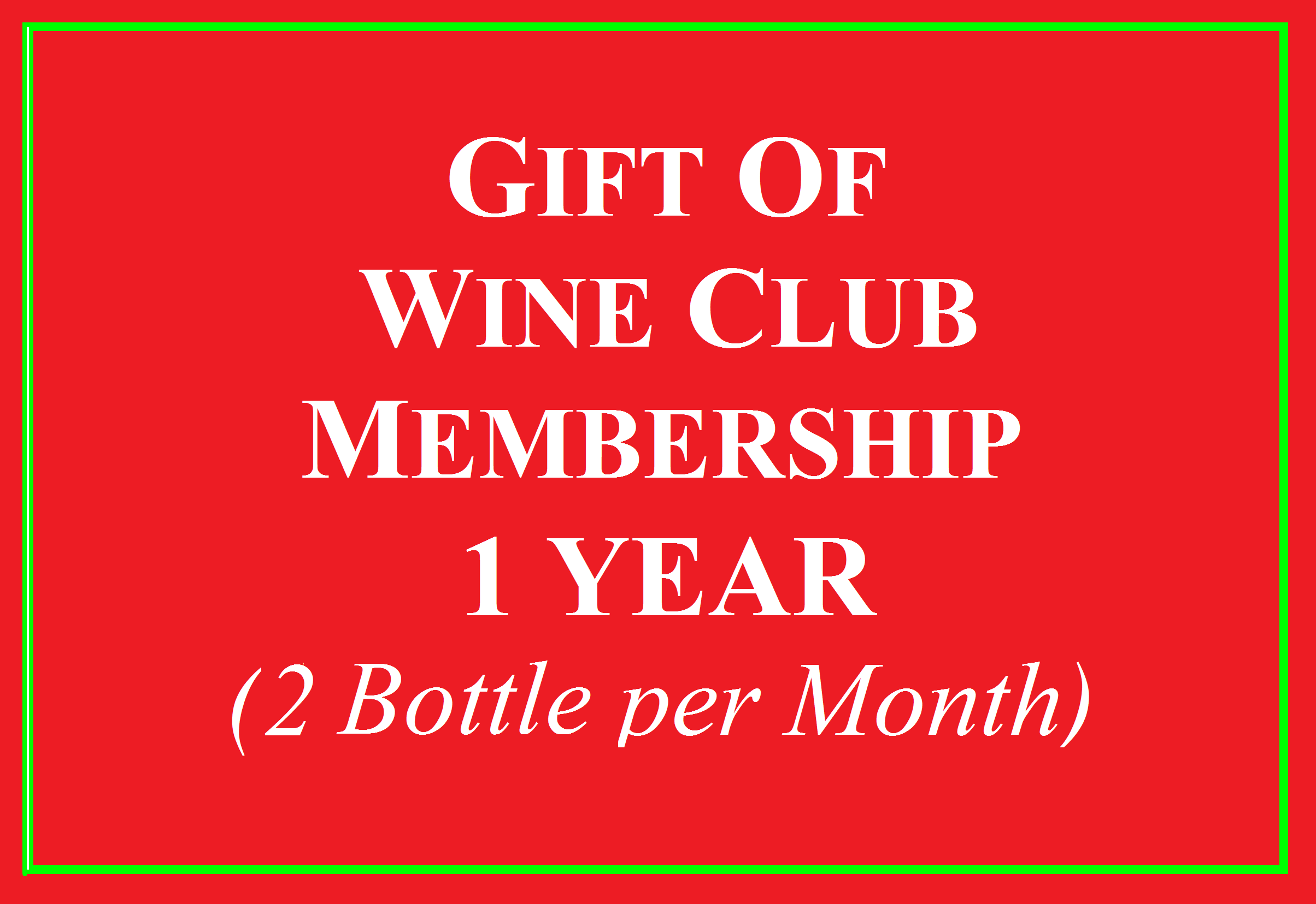 2 Bottle a Month Wine Club for 1 year Photo