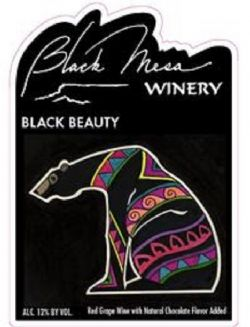 Black Beauty Chocolate Dessert Wine