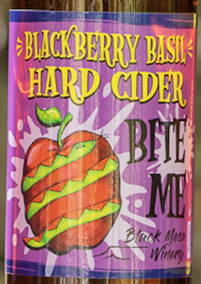 Blackberry Basil Hard Cider