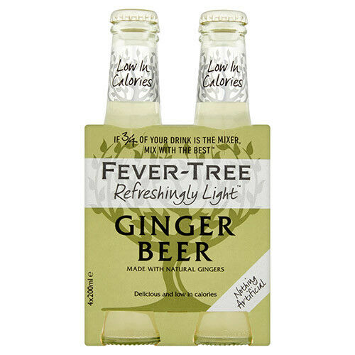 Fever Tree Ginger Beer 4pk Photo