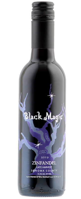 Black Magic Late Harvest Zin 2019,  375ml Photo