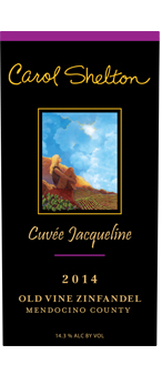 2014 Cuvee Jacqueline Old Vine Zinfandel Photo