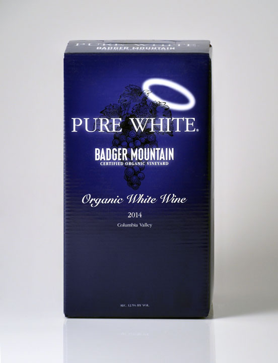 New Release! 2019 Badger Mountain 3L Pure White, USDA Organic, No Sulfites Added