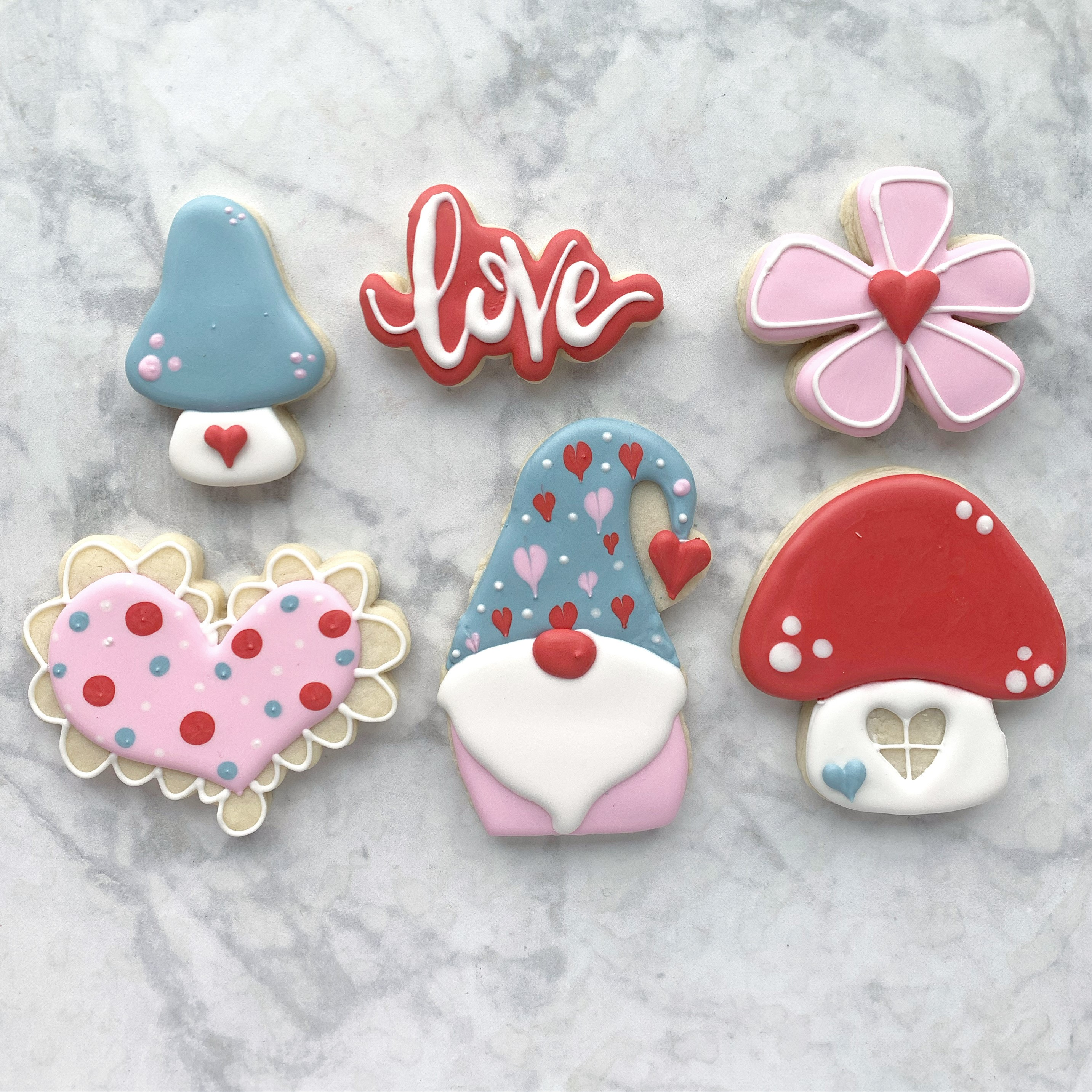 February 11th: Valentine's Cookie Decorating Class with Marla's Cookies