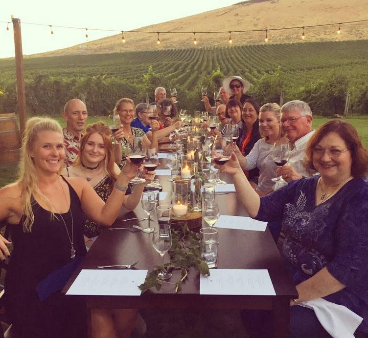 August 24: Dine in the Vines
