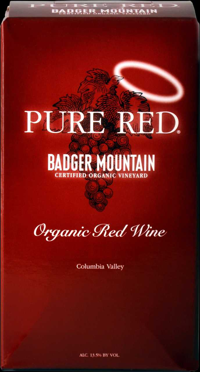 2019 Badger Mountain 3L Organic Pure Red