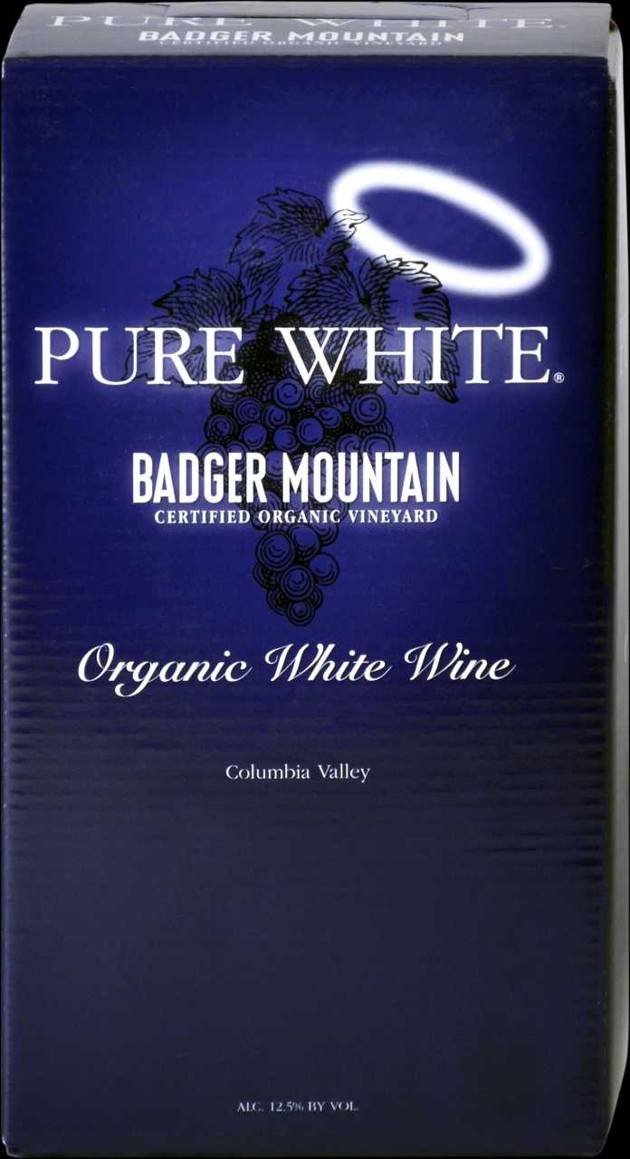 2019 Badger Mountain 3L Organic Pure White