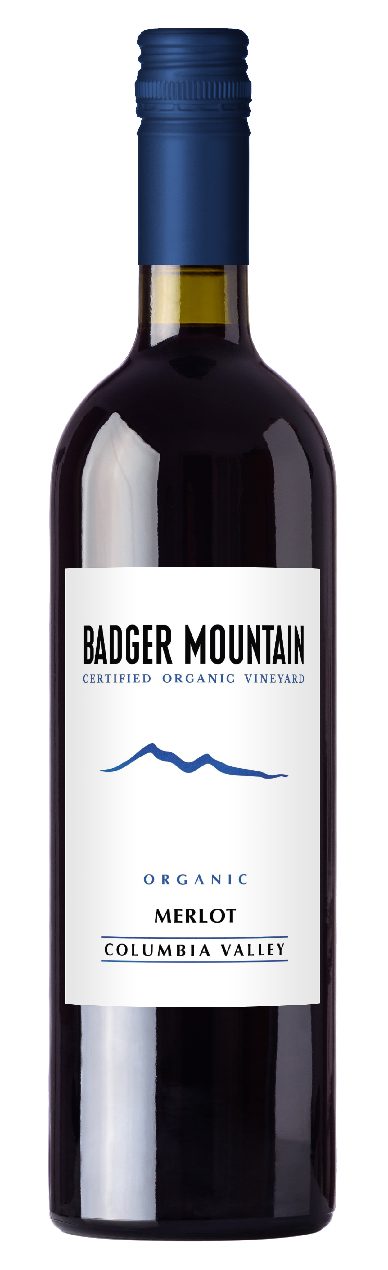 2018 Badger Mountain Merlot, USDA Organic, No Sulfites Added