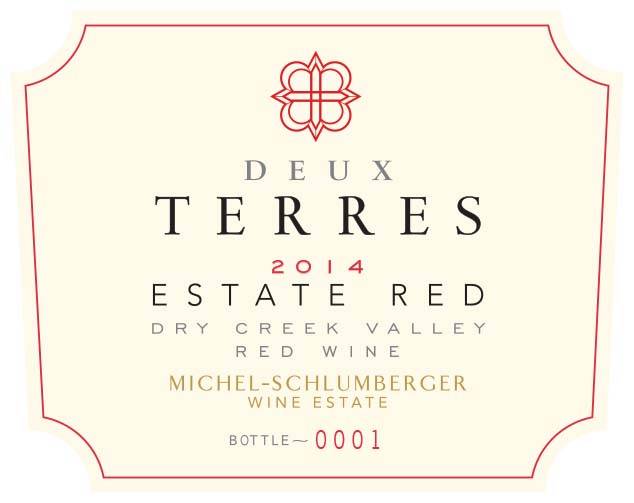 Deux Terres 2014 Dry Creek Valley