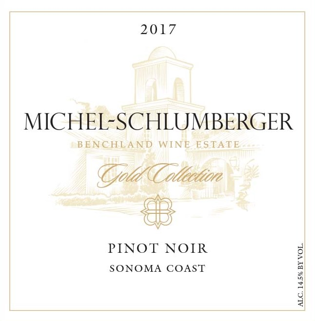 Pinot Noir 2017 Sonoma Coast Gold Collection