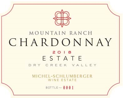 Chardonnay 2018 Mountain Ranch Dry Creek Valley