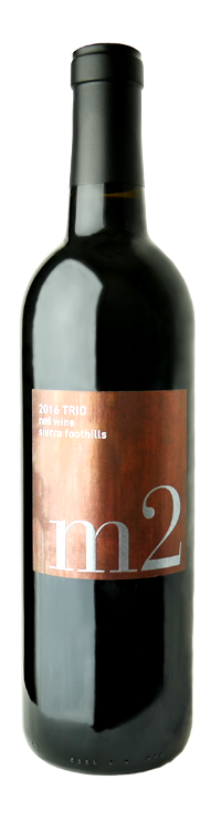 2016 Trio Red Wine Blend - Sierra Foothills
