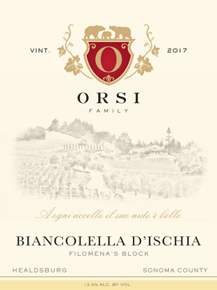 2017 Biancolella (Dry Creek Valley) Orsi Home Ranch